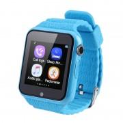 Smartwatch pentru copii cu GPS, Touchscreen, Bluetooth, Camera