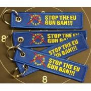 GRA Schlüsselanhänger Stop EU Gun Ban