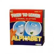 Edgeucational Publishing Alphabet Turn to Learn Flash Card