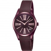 Reloj F16964/1 Morado Festina Mujer Boyfriend Collection Festina