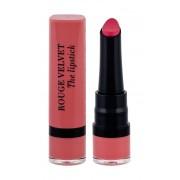 Bourjois Paris Rouge Velvet 2,4G The Lipstick 02 Flaming´Rose Per Donna (Lipstick)