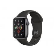 Умные часы Apple Watch Series 5 GPS 40mm Aluminum Case with Sport Band Black MWV82RU/A