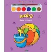 Jucarii - Miracolul Culorilor - Carte de colorat