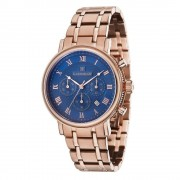 Thomas Earnshaw Es-8051-33 Beaufort blu & Rose Gold Chronograph Sta...