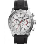 Michael Kors Bracelet de montre Michael Kors MK8353 Silicone Noir 24mm