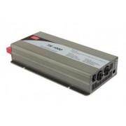 Invertor tensiune 24V-230V 1000W Mean Well sinusoida pura