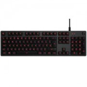Геймърска механична клавиатура Logitech, G413 Carbon, Romer-G суичове, LOGITECH-KEY-G413-US