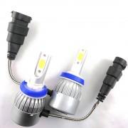 2 ampoules led phares H9 HEADxtrem 36W 7600lumens - Blanc