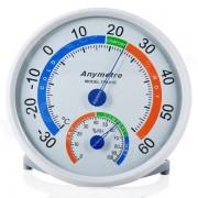 anymetre TH101E termometro higrometro tiempo - blanco (sin bateria)
