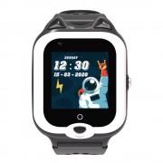 Ceas Inteligent pentru copii WONLEX KT22 4G Negru, cu GPS, apelare video, rezistent la apa, localizare WiFI si monitorizare spion