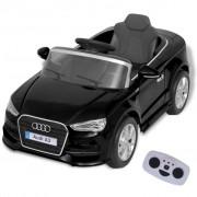 vidaXL Електрически автомобил с дистанционно управление, Audi A3, черен