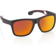 Carrera Retro Square Sunglasses(Red)