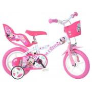 """Bicicleta copii DINO BIKES 612L-NN, Roti 12"""", MINNIE"""