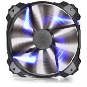 Вентилатор 200mm, DeepCool XFAN 200BL, 3/4 пинов, 700rpm, Blue LED