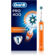 Oral B Pro 400 D16.513 CrossAction Orange escova de dentes eléctrica