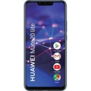 Telefon mobil Huawei Mate 20 Lite 64GB Dual Sim 4G Blue Bonus Husa Huawei Mate 20