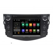 "Navigatie GPS Auto Audio Video cu DVD si Touchscreen 7 "" inch Android 7.1, Wi-Fi, 2GB DDR3 Toyota RAV4 2006-2011 + Cadou Soft si Harti GPS 16Gb Memorie Interna"