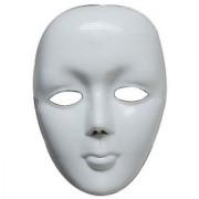 PTCMART White Plastic Mask