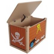 Ladita din lemn pentru depozitare jucarii Brown Treasure Chest