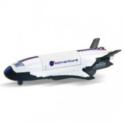 Playking Sonic Adventura Space Shuttle Orbital Flight Vehicle, Color May Vary - *Pull Back Action *Operating Cargo Door