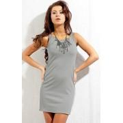 Sukienka 136 (szary)
