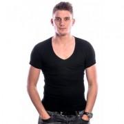 Beeren Men T-Shirt V-Hals Diep Zwart (3 pack)