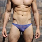 McKillop Gravity Custom Mesh Bikini Underwear Royal GKME-RO2