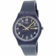 Ceas Swatch dama Originals GN718 albastru Rubber Swiss Quartz