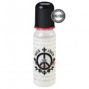 gyermek üveg (250ml) ROCK STAR BABY - Peace - 97090