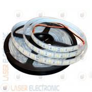 Striscia Bianco Naturale 4000-4500K LED SMD5630 Stagna da Immersione IP68 5MT Alta Luminosità 50W