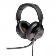 Слушалки JBL QUANTUM 300 BLK Hybrid wired over-ear gaming headset with flip-up mic, JBLQUANTUM300BLK