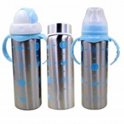 Baby Feeding Bottle Stainless-Steel 3 in 1