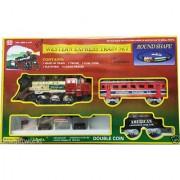 Western Express Train toys Set 12 Pcs Battery Operated Train Set