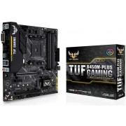 Asus matična ploča TUF B450M-Plus Gaming, DDR4, USB 3.1 Gen 2, AM4, mATX