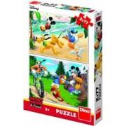 Puzzle 2 in 1 Dino Toys Mickey campionul 77 piese Multicolor