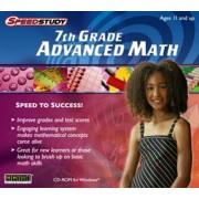 Brand New Selectsoft Publishing Speedstudy 7th Grade Advanced Math Improve Grades And Test Scores