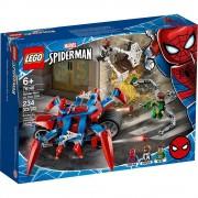 set de construcción lego super héroes spider-man vs. doc ock 76148