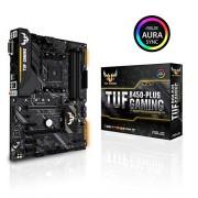 Asus TUF B450-Plus Gaming Mainboard Socket AM4 (ATX, AMD B450, DDR4-geheugen, M.2, eerste USB 3.1 Gen2, Aura Sync)