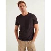Boden Schwarz Vorgewaschenes T-Shirt Herren Boden, XL, Black