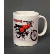 Piros Simson motor pohár