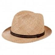 HUTTER cappello trilby in paglia naturale leggero e morbidissimo