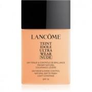 Lancôme Teint Idole Ultra Wear Nude matificante leve de maquilhagem tom 024 Beige Vanille 40 ml