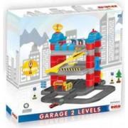 Set de constructie DOLU Garaj cu 3 nivele Multicolor