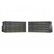 Cisco Catalyst 2960-X 48 GigE PoE 740W, 4 x 1G SFP, LAN Base