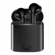 Căști I7S negre - aspect elegant, sunet excelent?cauti in locul potrivit