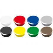 Magneet voor magneetbord 13mm diverse kleuren   Alco