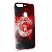Husa de protectie Football Manchester United pentru OnePlus 5T Silicon P233