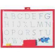 SHRIBOSSJI COLOR WRITING BOARD 2 IN 1 (Alphabet and white board) Premium Quality (Multicolor)