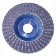 L.S.C. Isolanti Elettrici Disco Superior Lamellare 115x22 Grana 60 Zirconio Supporto In Nylon