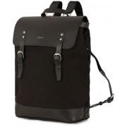 Sandqvist Hege Canvas Backpack Black